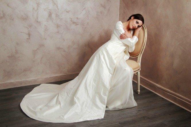 manteau de mariée créatrice de robe de mariée paris