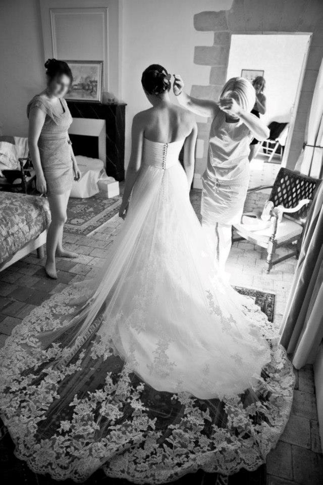Une cr atrice de robe de mari e poitiers ambassadrice for Boutiques de robe de mariage kansas city