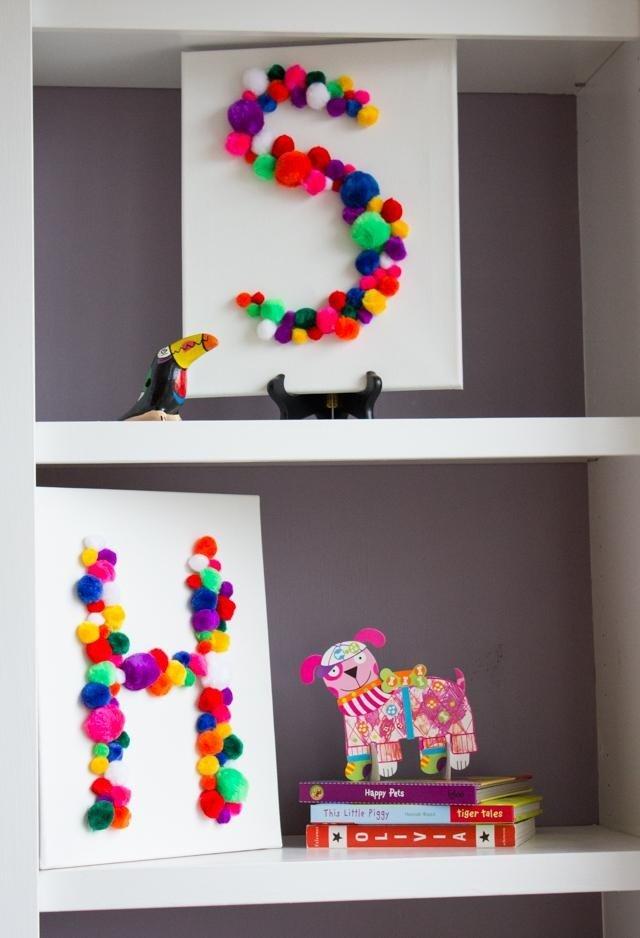 décoration pompons mariage