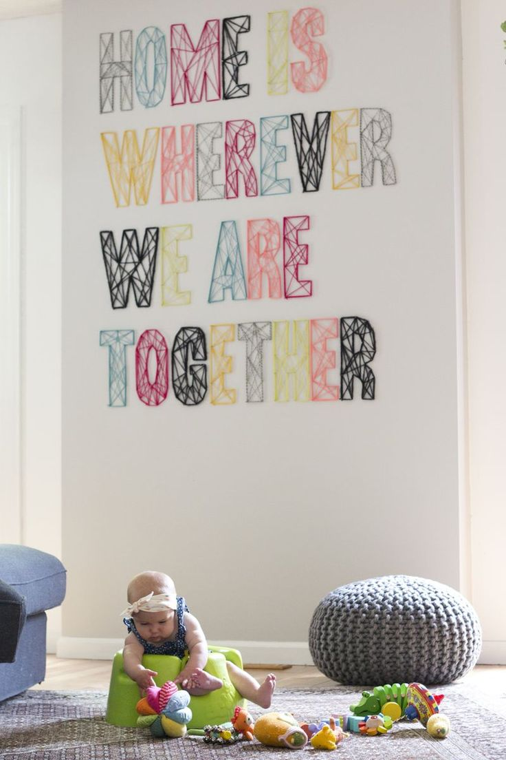 inspiration déco : les mots - with a love like that - blog lifestyle