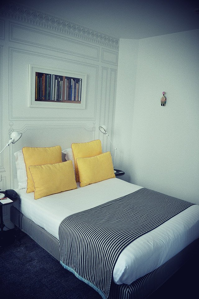Une nuit l 39 h tel joyce h tel d 39 amoureux paris for Hotel design paris