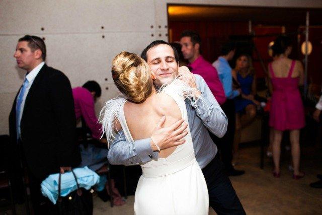 la mariée et son frère mariage