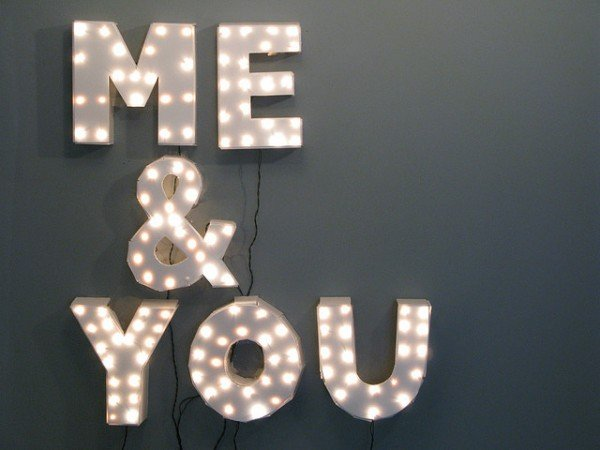 Inspiration d co les mots with a love like that blog for Decoration lumineuse