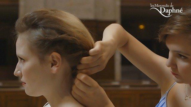 tutoriel coiffure cheveux court au carré