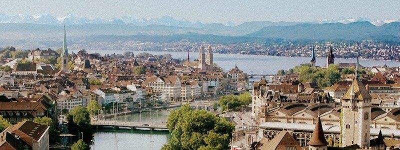 balade en suisse à zürich