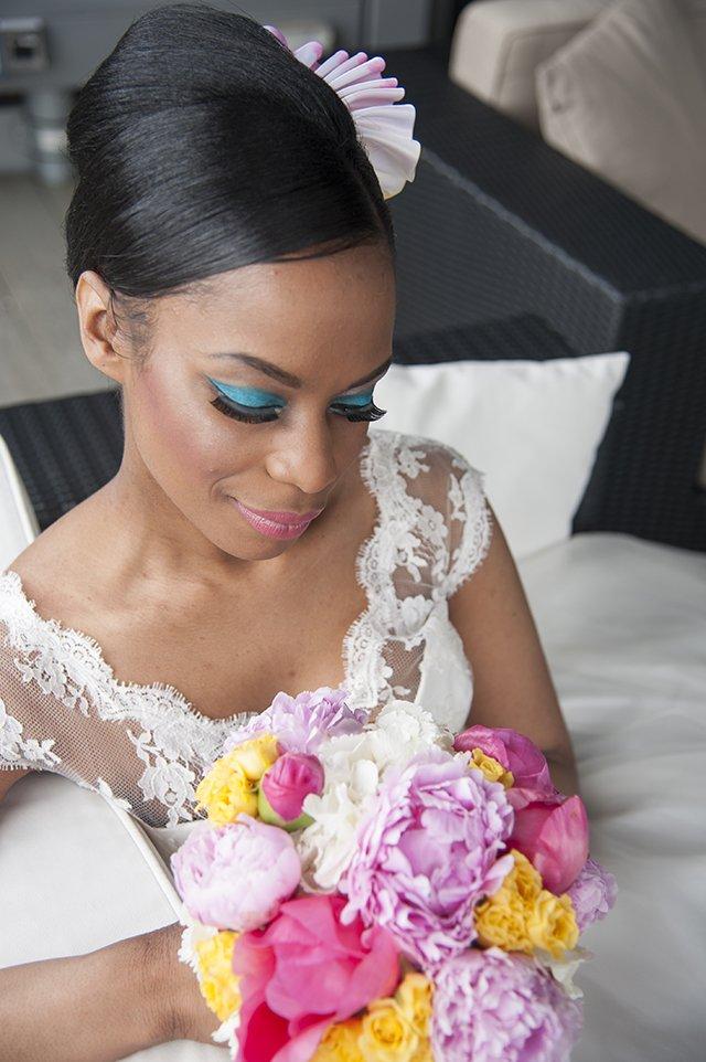 inspiration mariage gourmand coloré