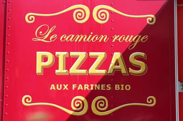 le camion rouge camion pizza - Location Camion Pizza Mariage