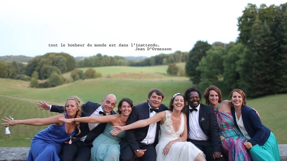 mariage video surprise bubblerock