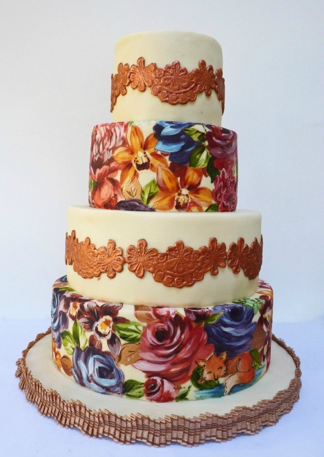 orchid-and-lace-cake
