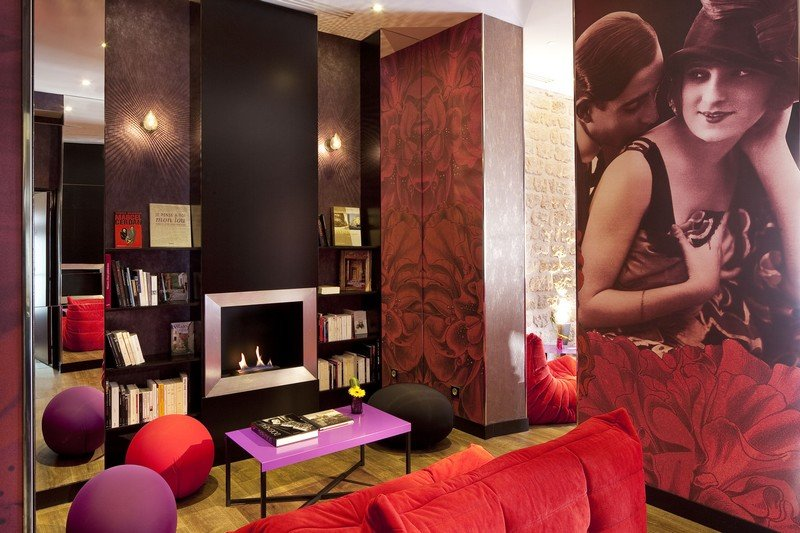 boutique hotel design paris montmartre mon amour