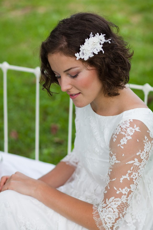 peigne cheveux mariage