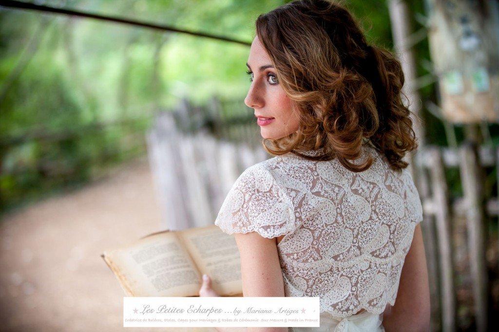 bolero robe de mariée
