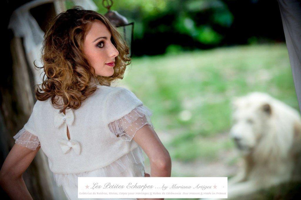 bolero pour robe de mariee