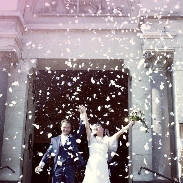 Un mariage en rose dans le puy de dome