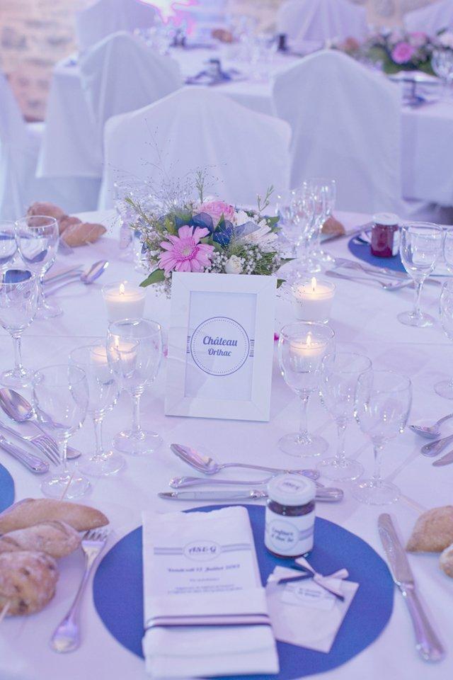 Un mariage en rose dans le puy de dome with a love like that - Deco mariage rose poudre ...