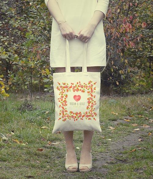 tote bag à imprimer la belette rose pour withalovelikethat