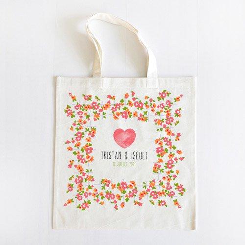 des sacs en tissus imprimer par la belette rose goodies with a love like that. Black Bedroom Furniture Sets. Home Design Ideas
