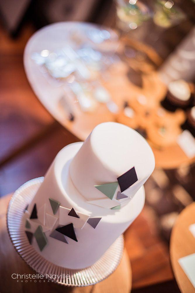 mariage decoration geometrique mint bleu gris