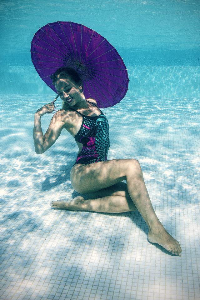 animation mariage natation synchronisee