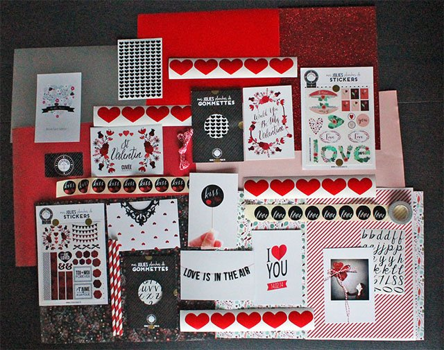 box stickerzbox saint valentin
