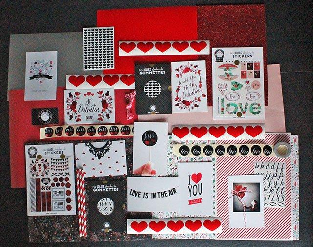 box stickerzbox saint valentin