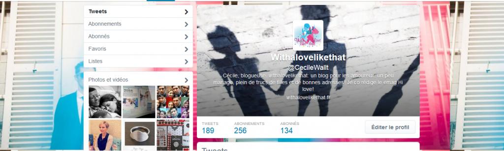 twitter withalovelikethat blog mariage