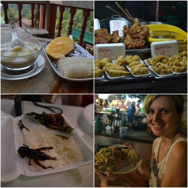 manger à koh samui thailande
