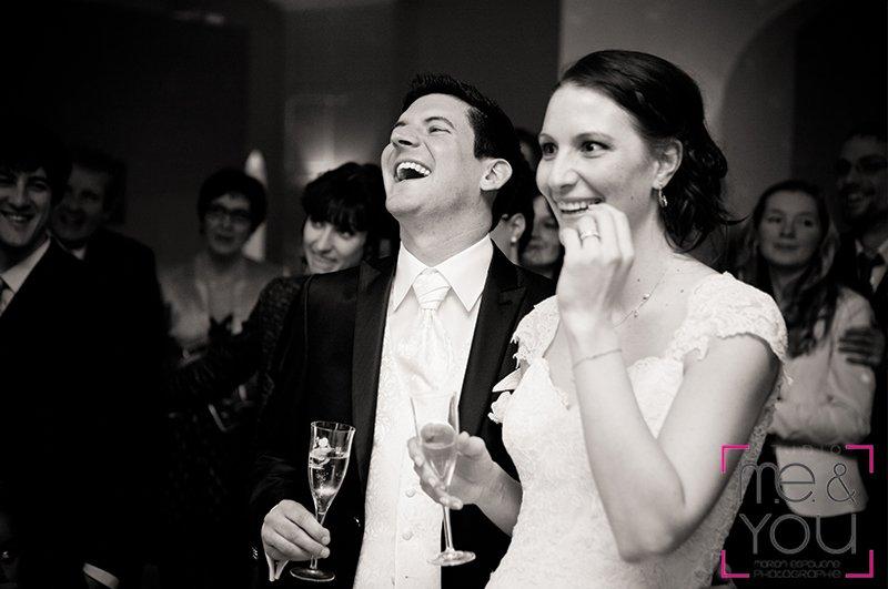 surprise aux mariés