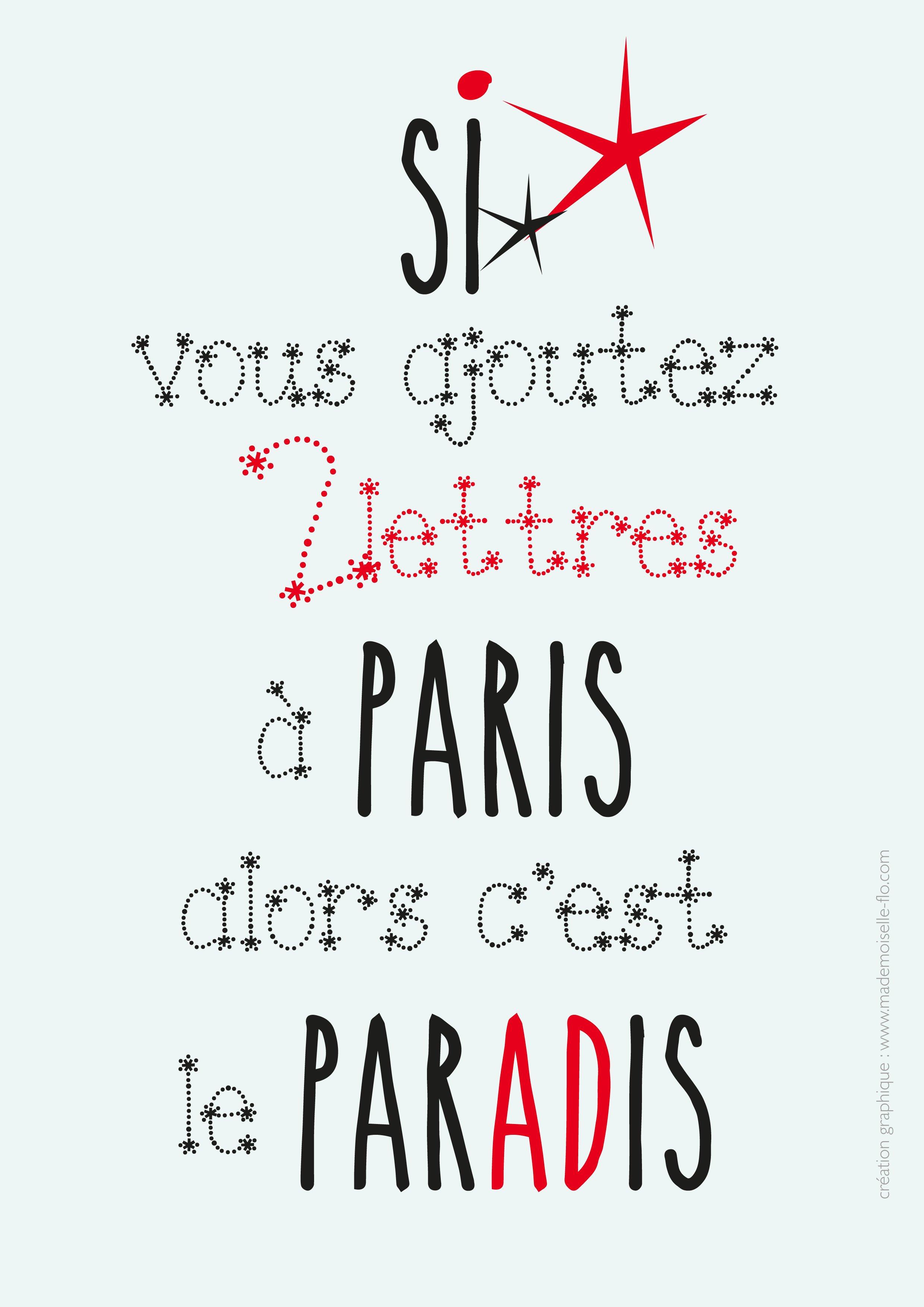paris paradis mademoiselle flo hi love