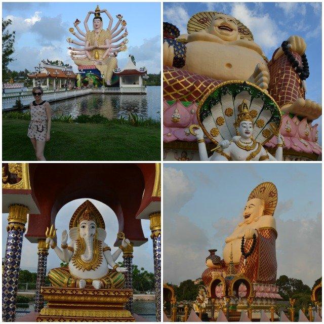 temples bouddhistes koh samui