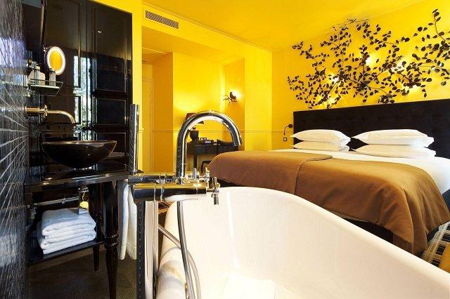 hotel en amoureux paris design