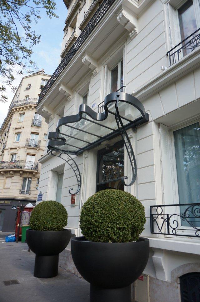 L 39 h tel la demeure pour nuit en amoureux paris with for Hotel design paris 8eme