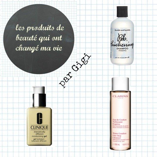 les 3 produits de beauté qui ont changé la vie de Gigi