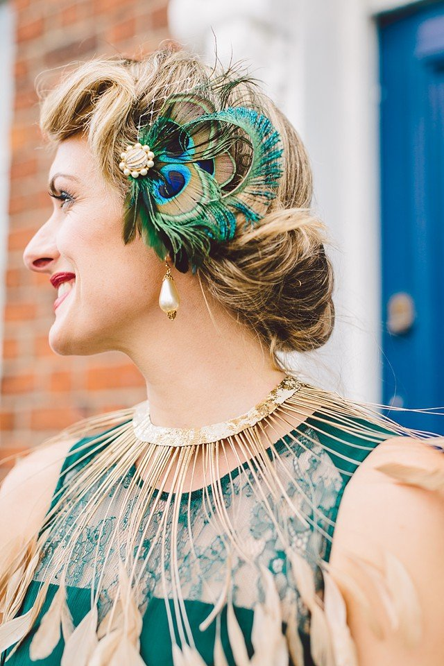 Mariage annees 20 gatsby gather and tides sur withalovelikethat 38 - Mariage annee 20 ...
