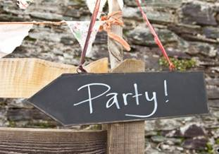 pancartes ardoise mariage fêtes -modern confettis