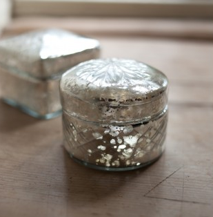 boite à alliances boite à bijoux modern confettis