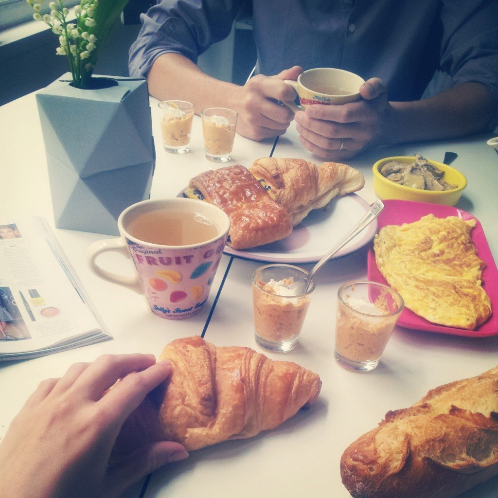 petit dejeuner 1er mai