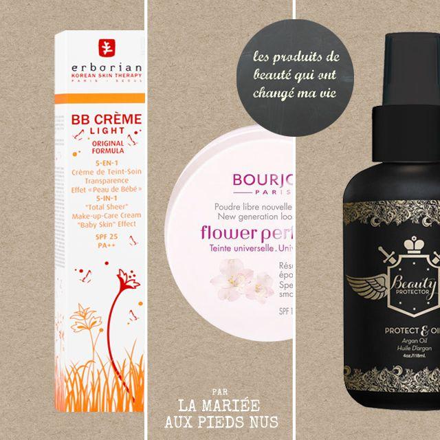 Les 3 produits de beauté qui ont changé la vie de La mariée aux pieds nus