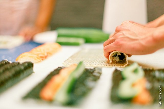 atelier sushis evjf / spycats testeuses d'enterrement de vie de jeune fille