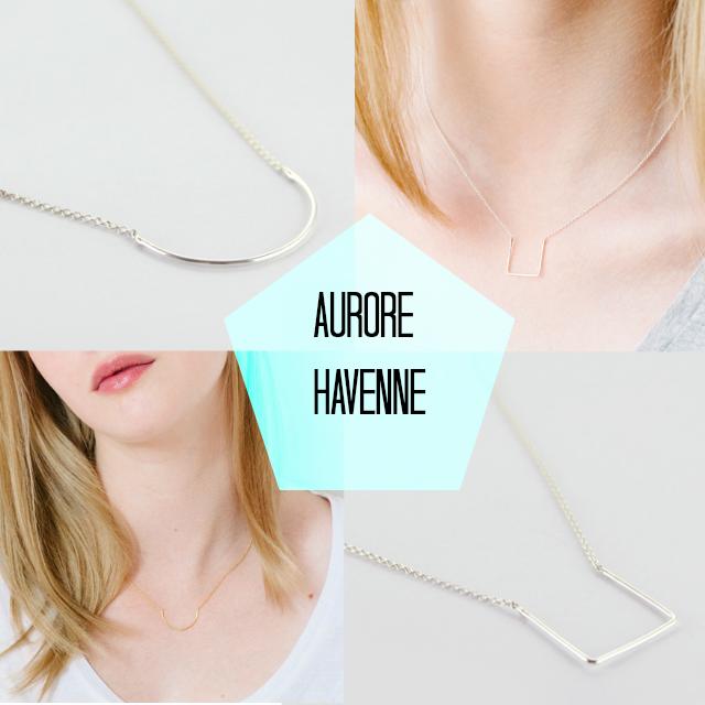 Aurore Havenne, bijoux fins et délicat / + d'infos sur withalovelikethat.fr