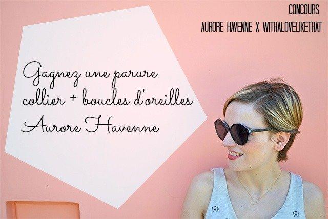 Aurore Havenne, créatrice de bijoux fins et délicats / sur le blog withalovelikethat.fr