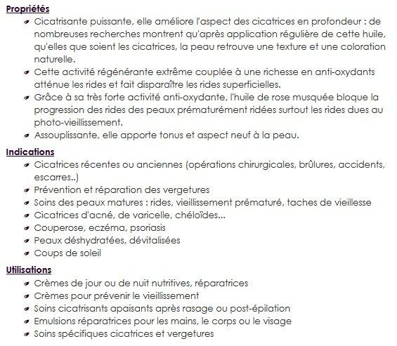 huile végétale de rose musquée propriétés / + d'infos sur withalovelikethat.fr