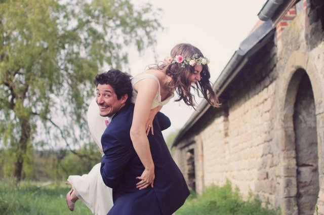 Mariage rock'n love british / photographe Pauline Franque / + sur withalovelikethat.fr