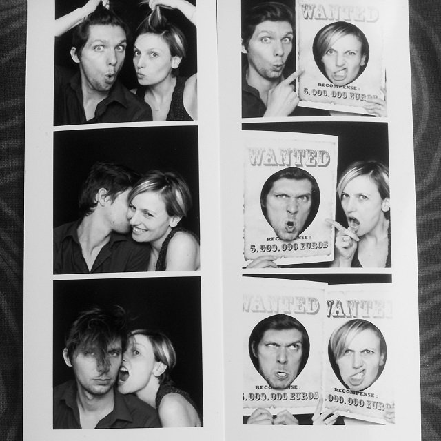 cabine photo mister like that mariage / format strip / cabine photo, photobooth mariage www.misterlikethat.fr
