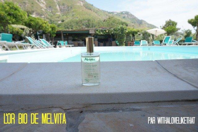 l'or bio de melvita / huile sèche pour le corps, le visage et les cheveux / avis sur withalovelikethat.fr