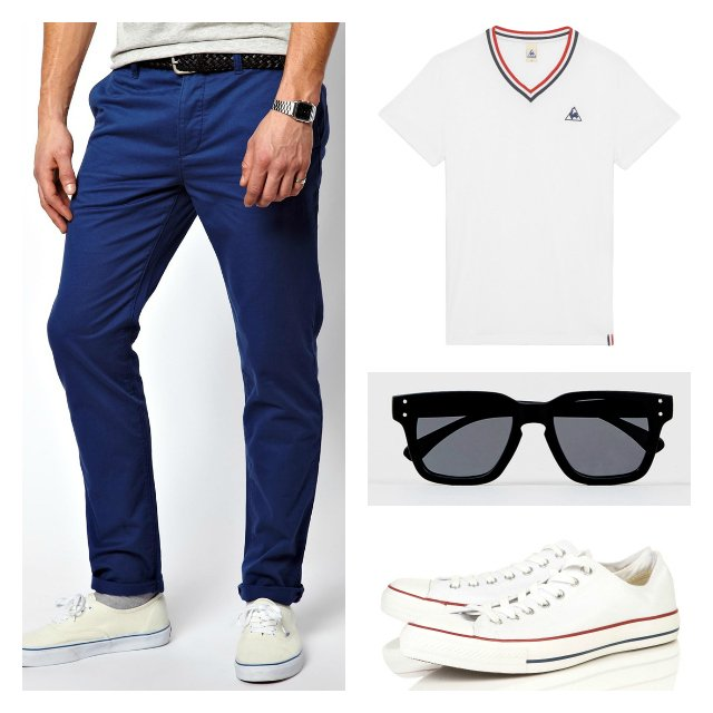 tenue casual homme special coupe du monde de foot