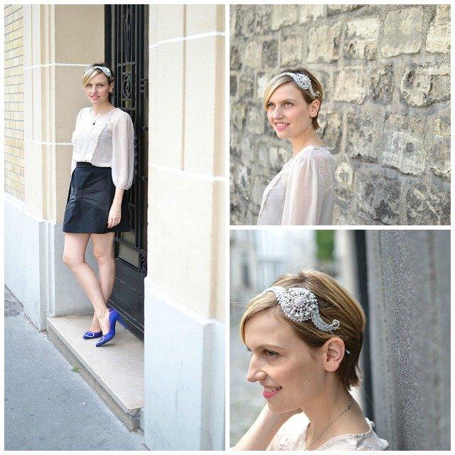 Bijou de cheveux Vintage / Flo & Percy / + sur withalovelikethat.fr