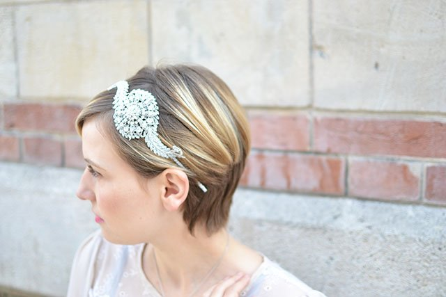 headband mariage accessoire cheveux vintage / Flo and Percy