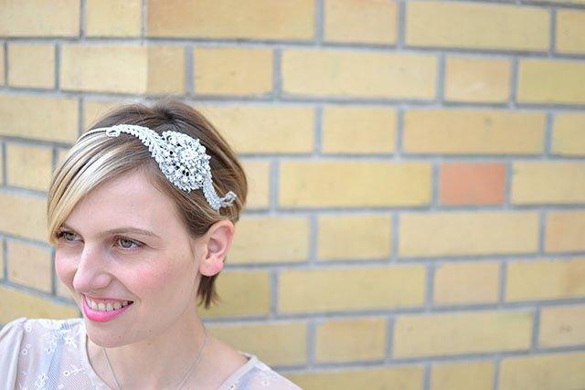 Bijou de cheveux mariage / flo & percy