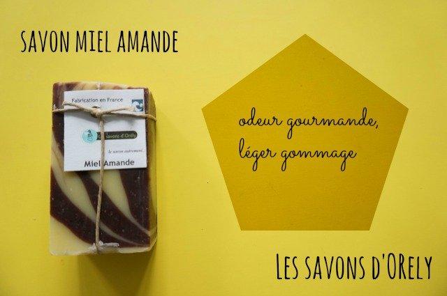 Savon à l'huile végétale bio saponifié à froid / Les savons d'Orély / made in normandie / mon avis sur withalovelikethat.fr